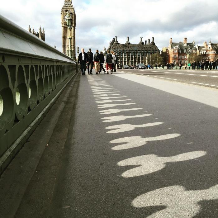 Westminster Bridge แจกควย