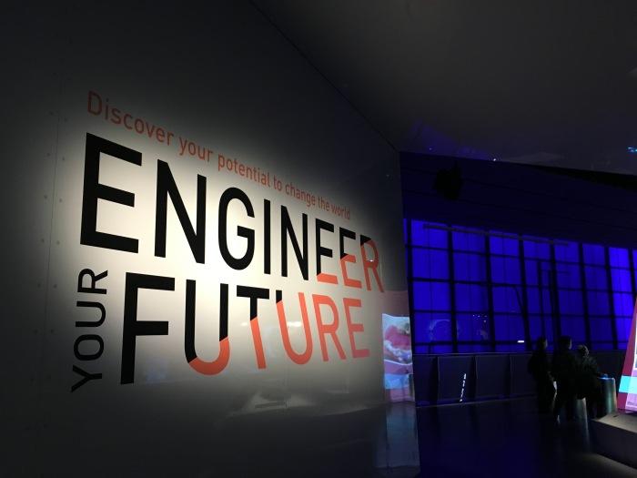 อันนี้ส่วน Engineer for Future จะเป็นการโปรโมตให้คนเรียนวิทยาศาสตาร์/วิศวกรรมศาสตร์กัน โดยจะเป็นพวกเกมให้ออกแบบหรือแก้ปัญหาอะไรต่างๆ ให้เข้าใจคอนเซปต์ว่าวิศวกรรมคืออะไร