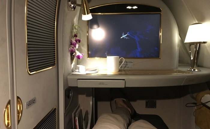 My first Emirates First Class experience on A380.