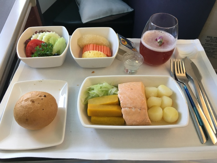 How To Get Salmon Meal When Departing FromBangkok