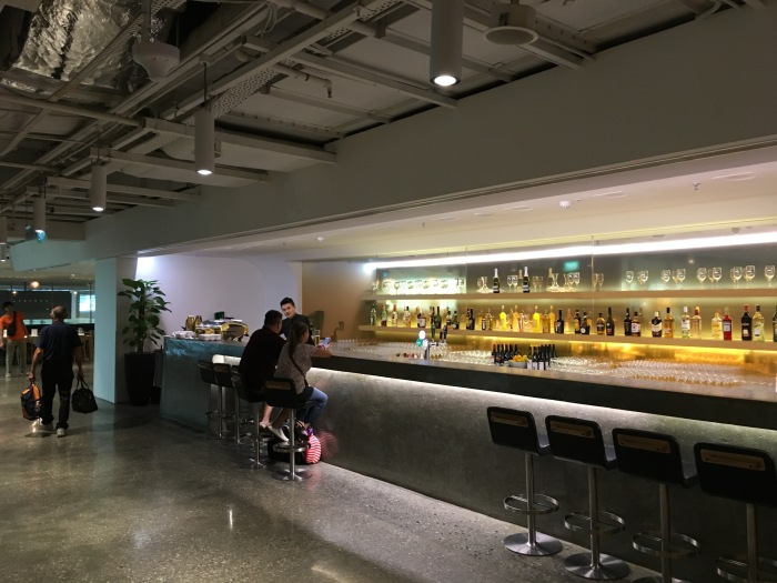 Quick Look: The Qantas Singapore Lounge