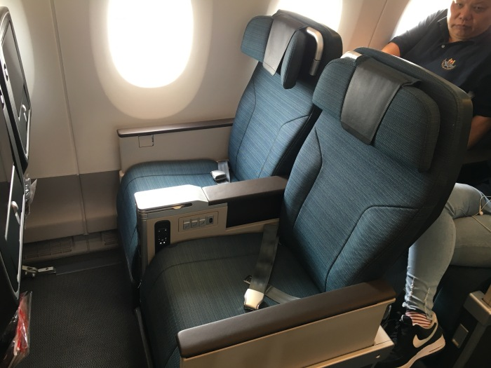 Review: Cathay Pacific A350 Premium Economy